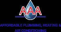 AAA Affordable Plumbing Logo